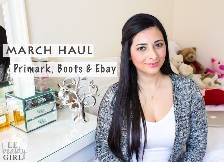 March Drugstore & Ebay Haul