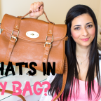 What's in my bag BLOG