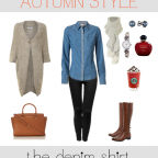 Autumn Style Denim Shirt