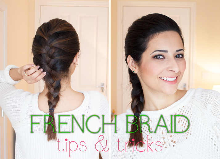 French Braid Tips for Medium & Short Length Hair