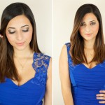 Naked 2 Cool Toned Makeup Tutorial for Blue Dress