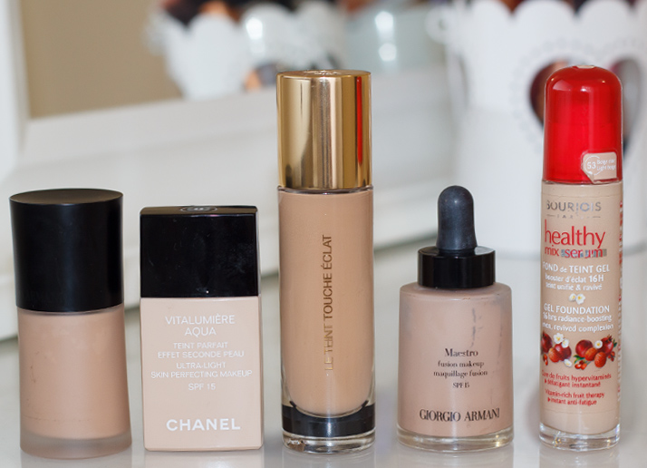 My Top 5 Foundations 2014 (updated
