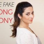 The Fake Long Ponytail Trick