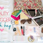 Beauty Blogger's Beauty Bag