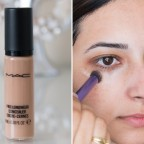 Mac Pro Longwear Concealer Review Before and After