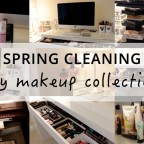 Spring Cleaning My Makeup Collection How To Organise Ikea Malm Dressing Table