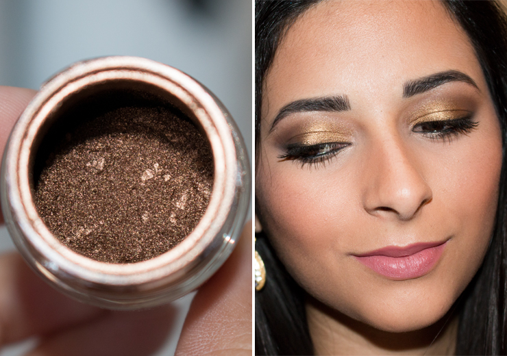 Mac Pigment in Rose Gold (Review, Swatches & Photos)