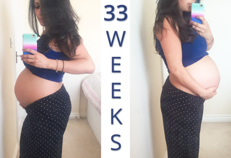 33 Weeks Pregnant Pregnancy Diary