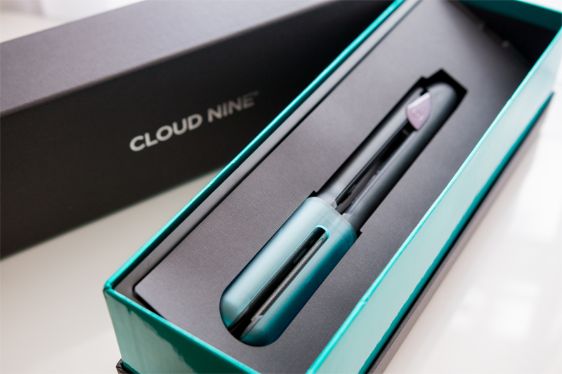 Cloud Nine Wide Iron Hair Straighteners Review and GHD Comparison