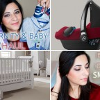 Maternity and Baby Haul & Spring Rose Gold Smokey Eye Makeup Tutorial