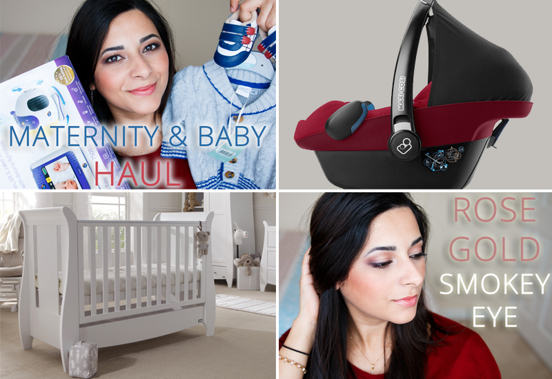Maternity and Baby Haul & Spring Makeup Tutorial