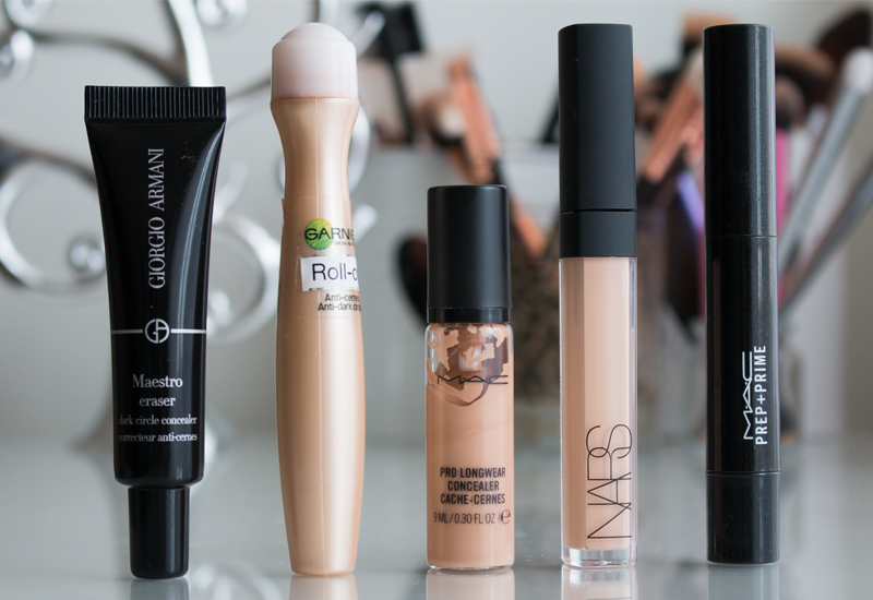My Top 5 Concealers 2015 - Mac, Nars, Giorgio Armani and Garnier