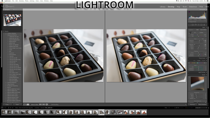 Blog Editing Tools - Adobe Lightroom