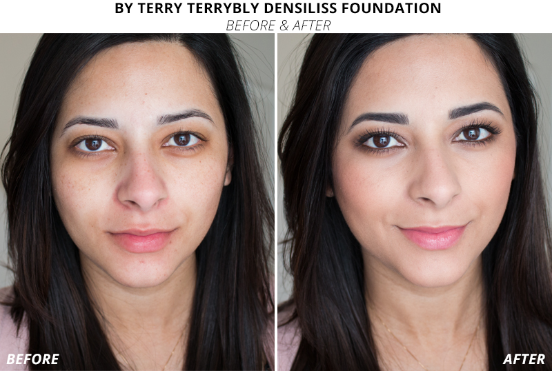 By Terry Terrybly Densiliss Foundation Review Before and After