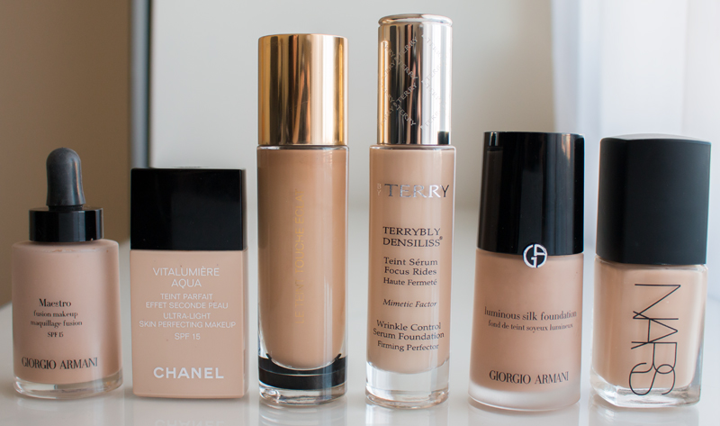 My Foundation and Concealer Shades - Foundations Shades for Olive Skin Tones