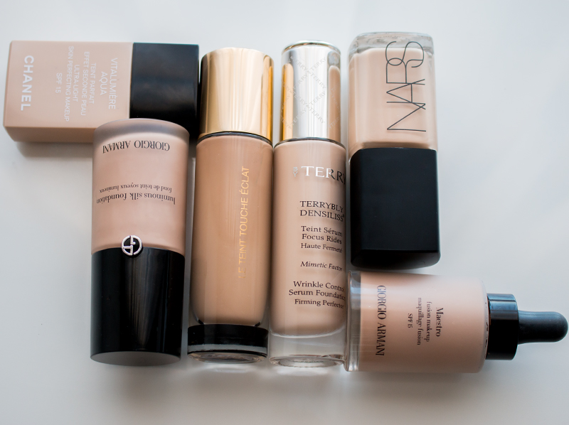 My Foundation and Concealer Shades - Olive Skin Tones