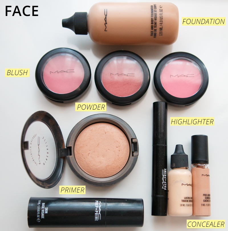 My Mac Must Haves - Face