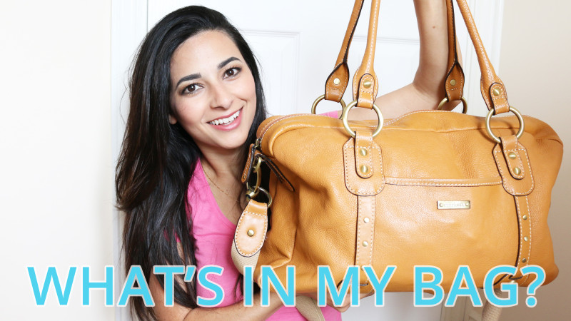 What's In My Baby Changing Bag - STORKSAK ELIZABETH