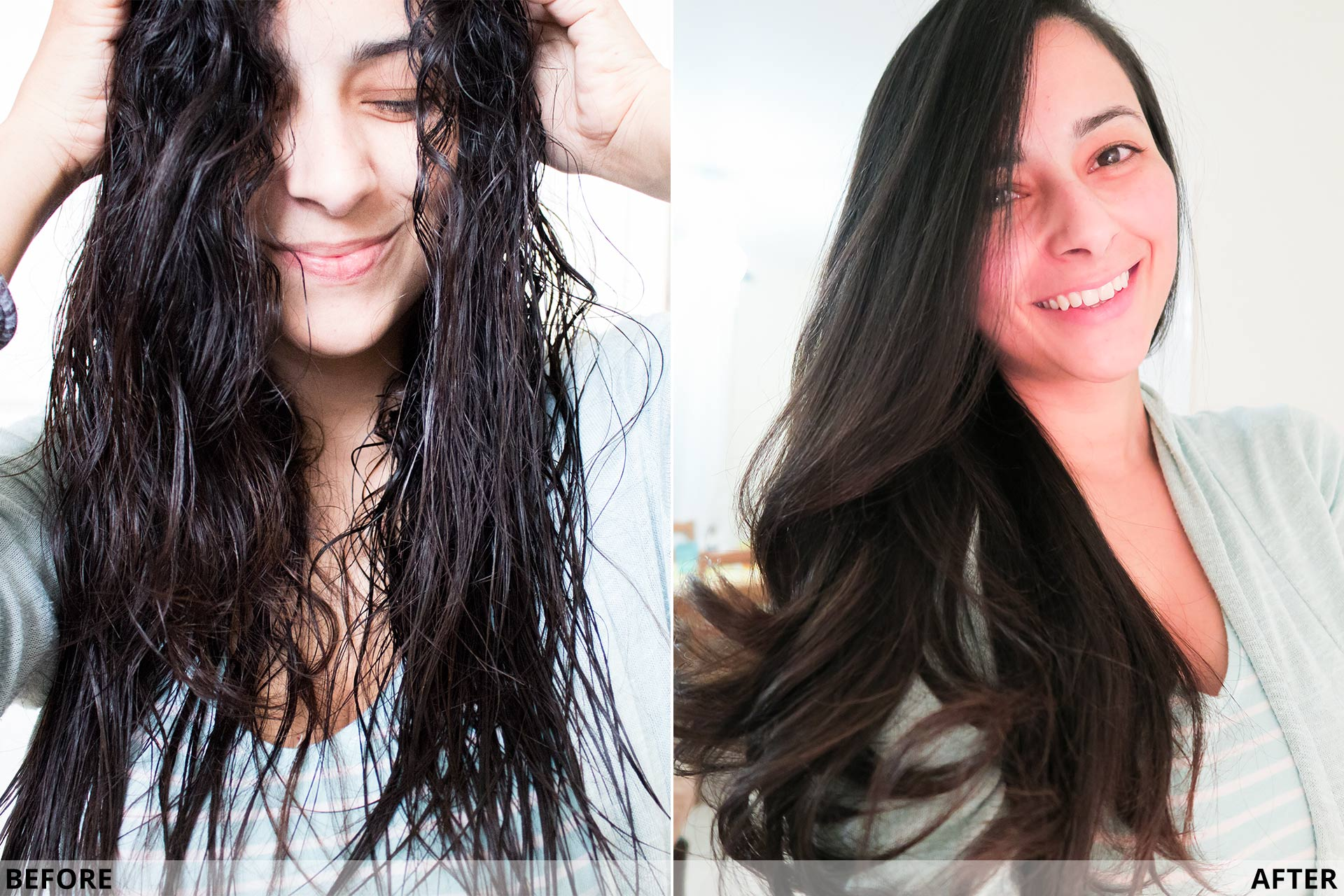 Review  L Oreal Steampod 2.0 Straightener (Before   After)  c10e1fa47c9