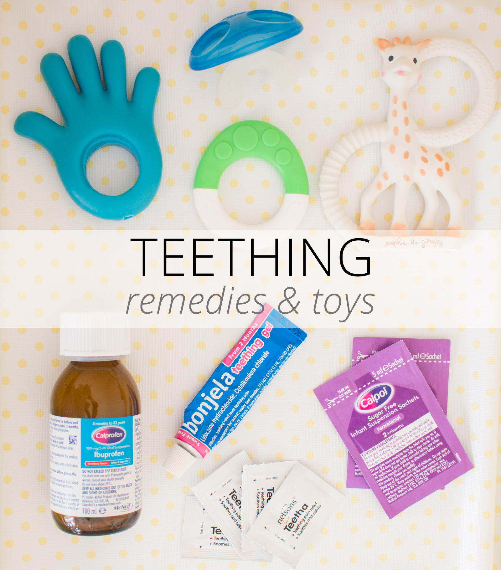 how to help a teething baby - toys & remedies