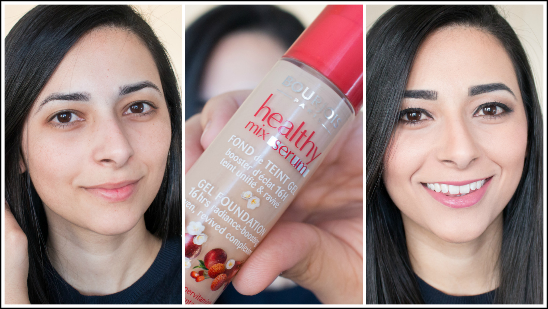 Bourjois Healthy Mix Serum Foundation Review, Demo and Application