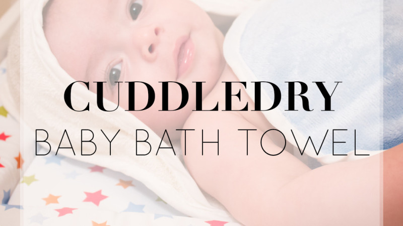 REVIEW: Cuddledry Apron Towel – Bath Time Essential!
