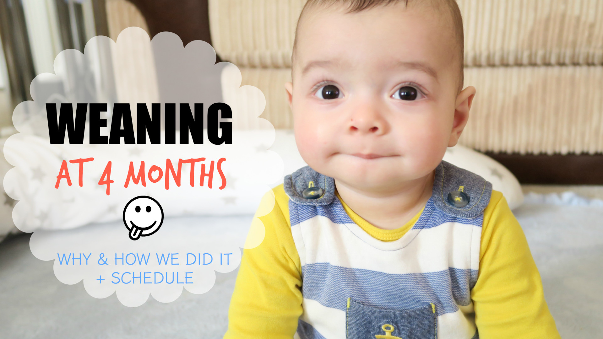 Weaning Baby At 4 Months Why and How We Did It, Equipment, Schedule and Routine