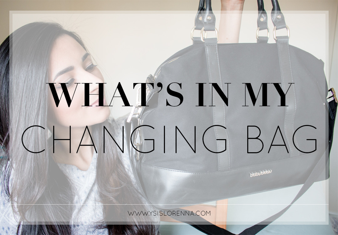 What's In My Changing Bag Baby Beau Isabelle Canvas Review - www.ysislorenna.com