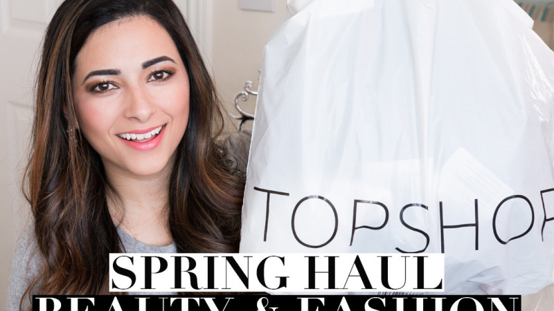 Spring Beauty and Fashion Haul