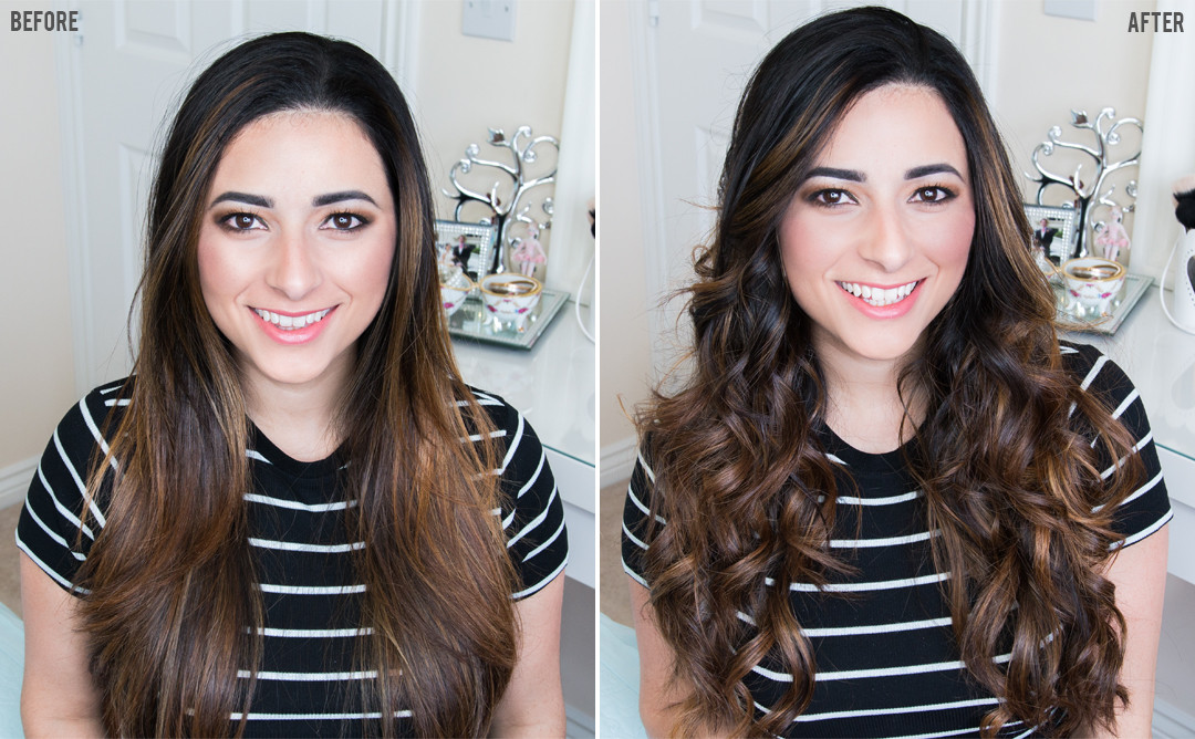 Loose Beachy Waves Tutorial with Babyliss Diamond Waves - Ysis Lorenna www.ysislorenna.com