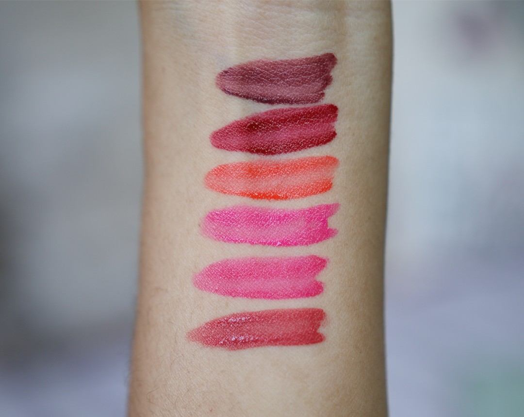 Giorgio Armani Lip Magnet Swatches and Review | Ysis Lorenna www.ysislorenna.com