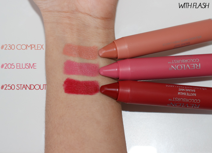 Revlon Colorburst Matte Balms (Review, Swatches & Photos)