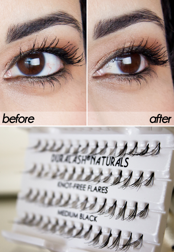 Review Ardell Individual Lashes Before Amp After