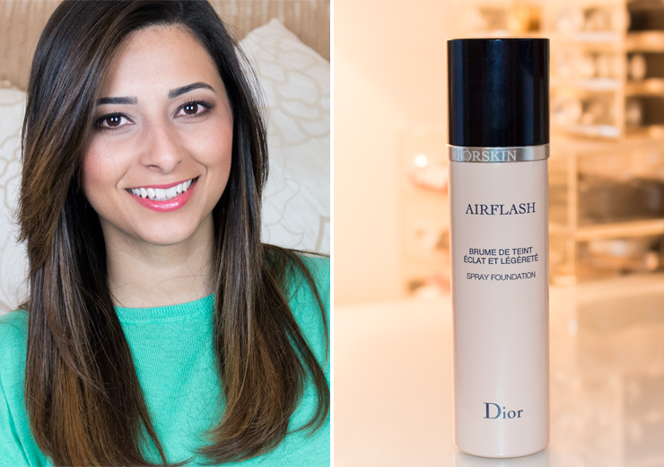 Airbrushed Complexion With Dior Airflash Foundation